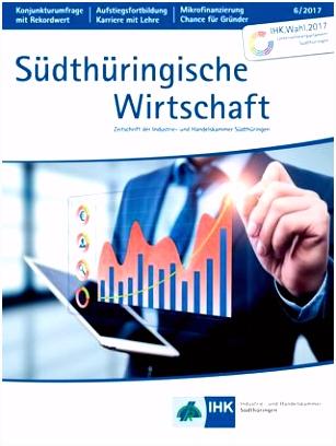 Südthüringische Wirtschaft Ausgabe 5 2017 by IHK Südthüringen issuu