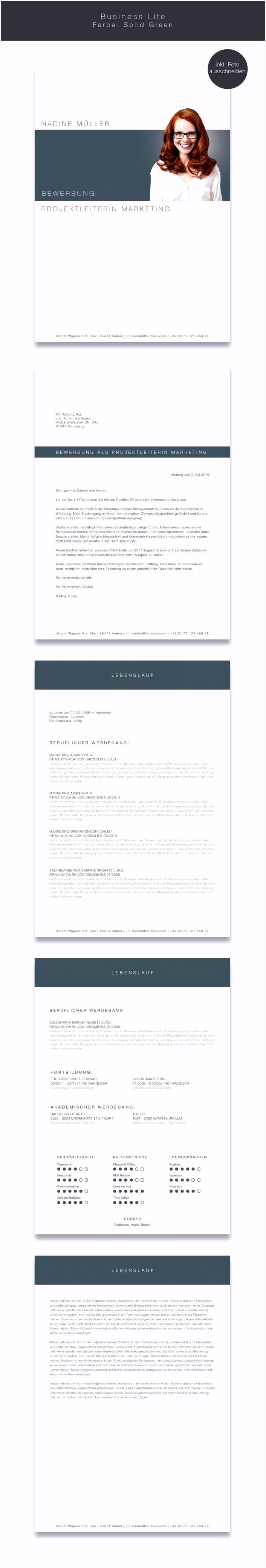 Portfolio Deckblatt Vorlage