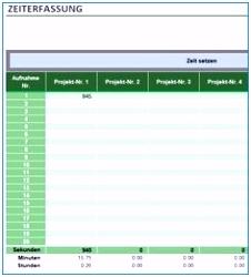 Zeiterfassung Excel Vorlage Kostenlos 2019 Wunderschönen 82 Besten