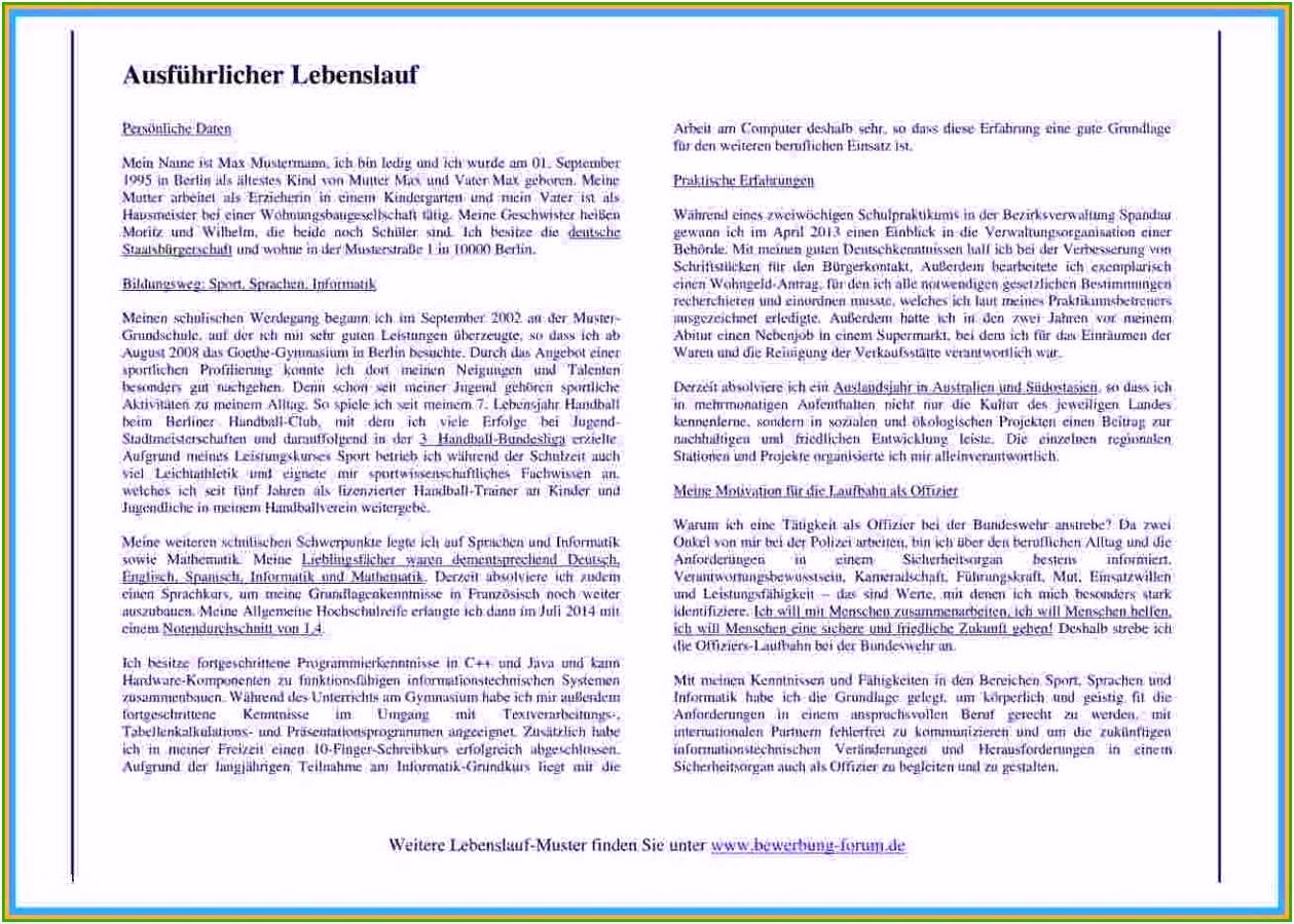 Tabellarischer Lebenslauf Ausbildung Download 29 Empfehlungen Nur