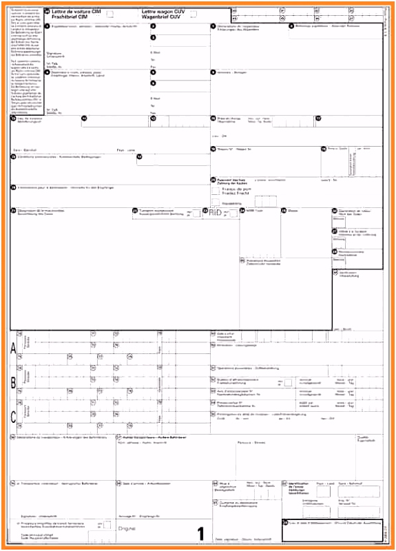 15 Excel Frachtbriefvorlagen kostenlos