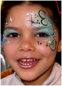 Die 9 besten Bilder von Kinderschminken Elsa