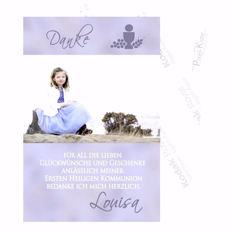 Konfirmation Dankeskarten Rustikal Dankeskarte Kommunion Text