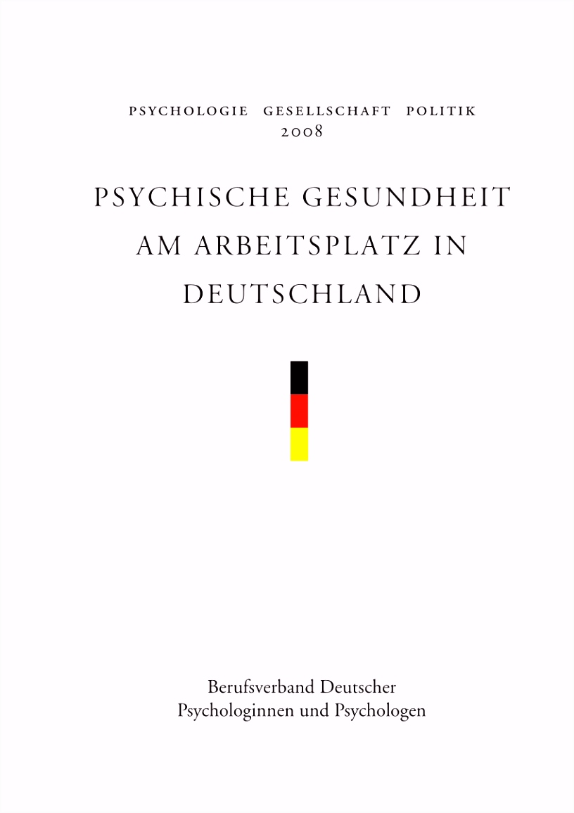 PDF Psychische Gesundheit und Angst vor Arbeitsplatzverlust
