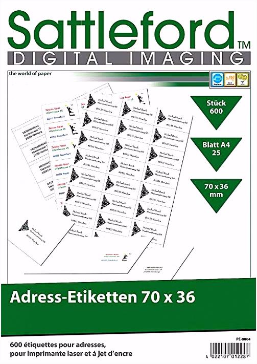 Etiketten Vorlage 70x36 Sattleford Klebeettiketten 600 Adress Etiketten 70x36 Mm Universal D3ph33zlz4 Guqwv6eqeu