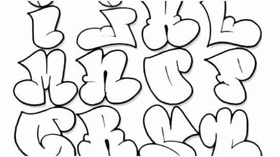 Graffiti Buchstaben Vorlagen Kostenlos Rahmen 014 Graffiti Schrift