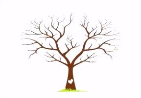 Hochzeit Baum Fingerabdruck Baum Vorlage Zum Ausdrucken Inspirant