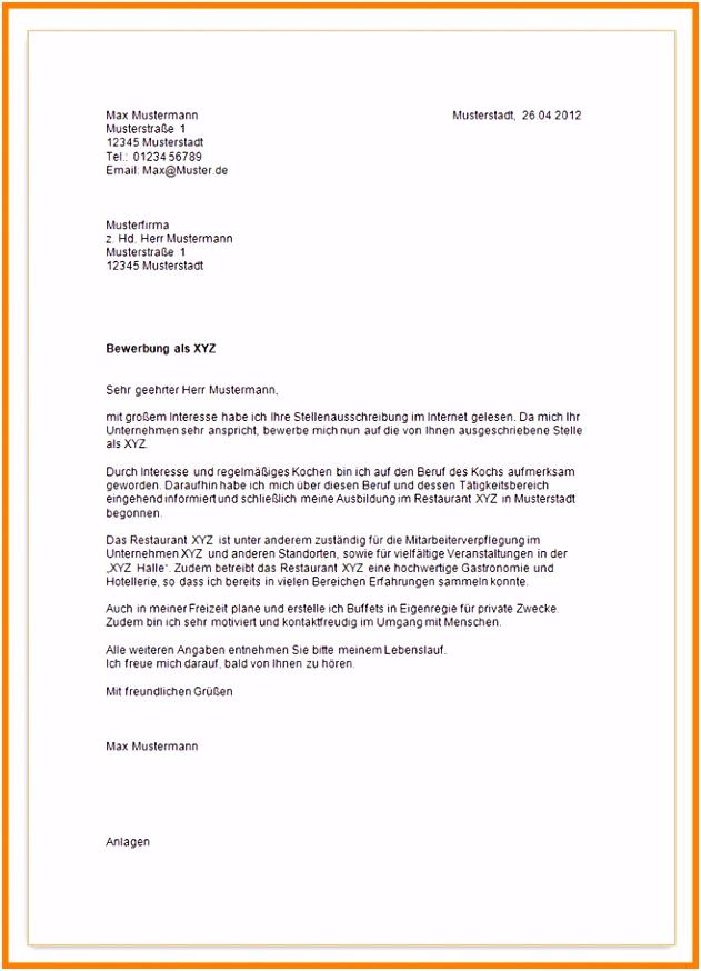 17 bewerbungsschreiben ausbildung muster 2014