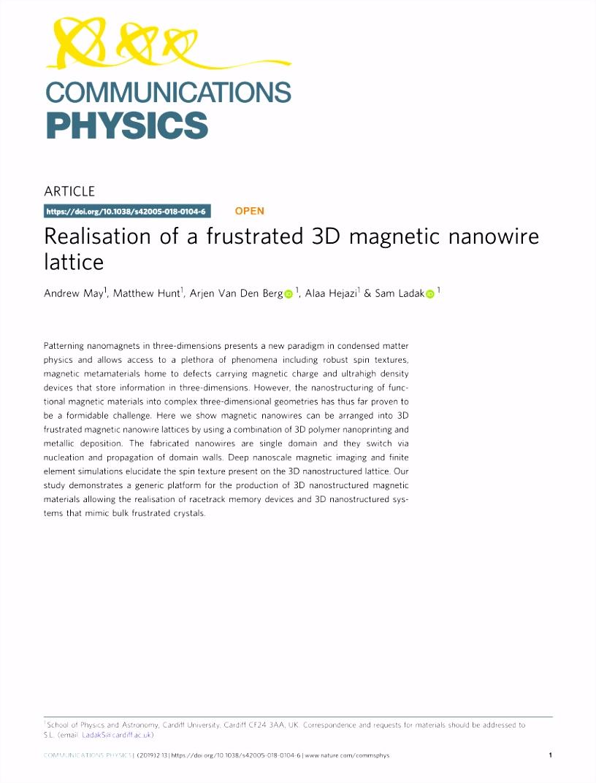 Jtl Shop Email Vorlagen Pdf Three Dimensional Nanomagnetism W8ne93iwc3 Uumsuhkwe2