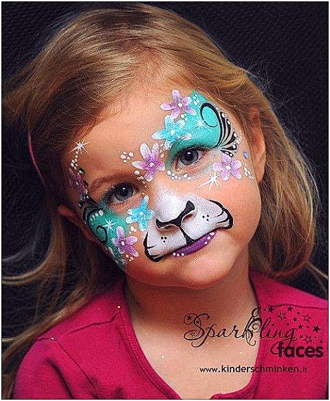 Kinderschminken Einfache Vorlagen Kinderschminken Vorlagen Zum