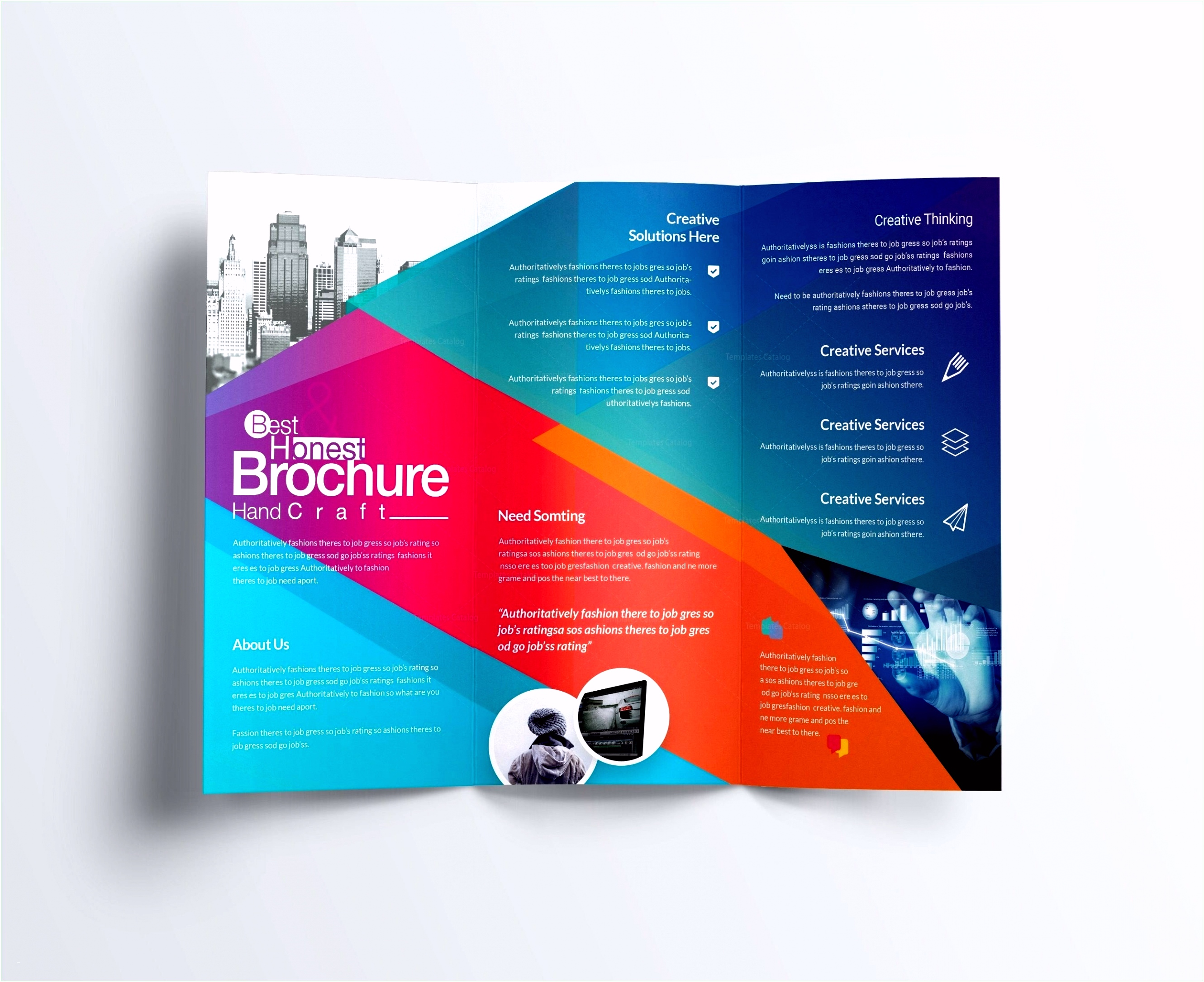 Business Cards Template shop Unique Tri Fold Business Brochure