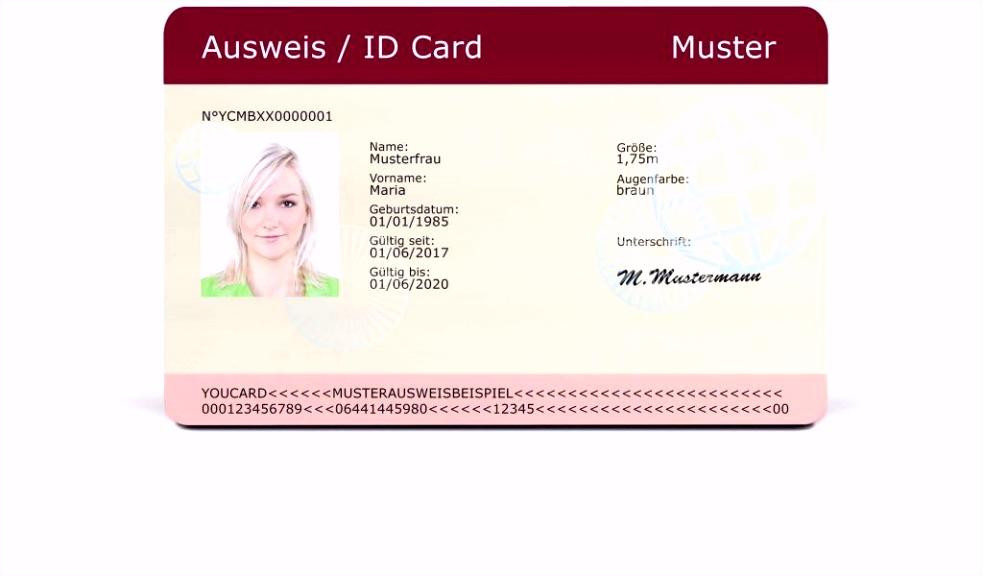 Personalausweis Photoshop Vorlage Ausweis Vorlagen Zum Drucken Kostenlos S5yh47cfv6 W5tyvuch2h