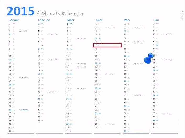 Genial Kalender 2015 Vorlage