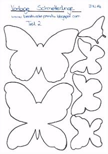 Die 20 besten Bilder von Schablone Schmetterling