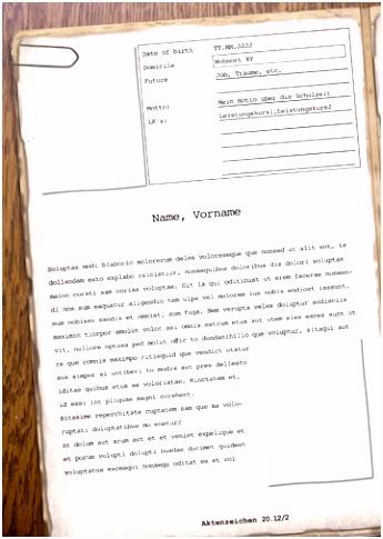 Gestaltungsvorlage für Eure Maturazeitung Die Fälle des A B I