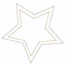 Stern Malvorlage kostenlose Sternmalvorlage zum Ausdrucken