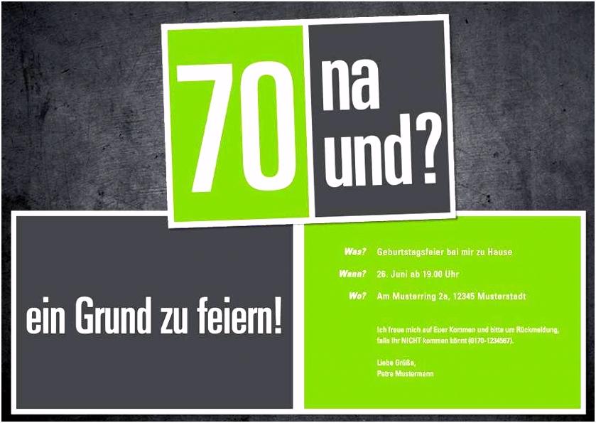 70 Geburtstag Einladung Einladungskarten Vorlagen Geburtstag
