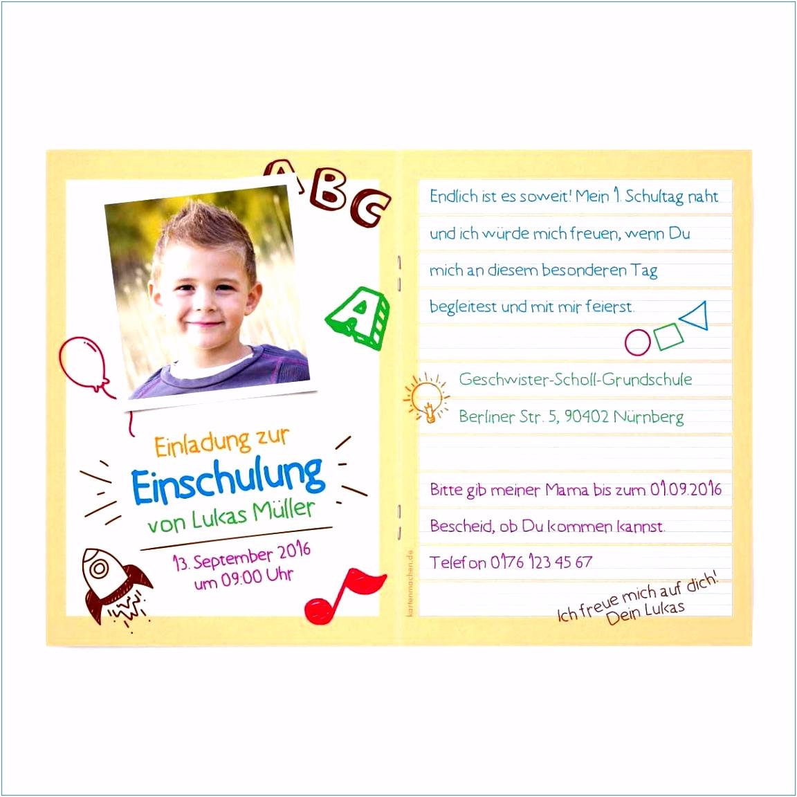 Vorlage Einschulung Einladung Einschulung Vorlagen Luxus Karte Schulanfang Das Beste Von A7jj74opf3 Muesm5odzv