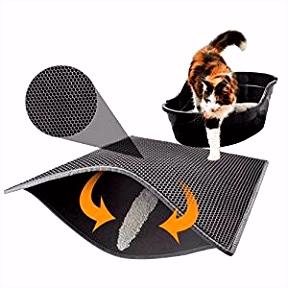 tervi Katzenklo Matte Katzenstreu Matte Katzenklo Unterleger