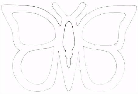 74 Einzigartig Schmetterling Vorlage Zum Ausdrucken Galerie