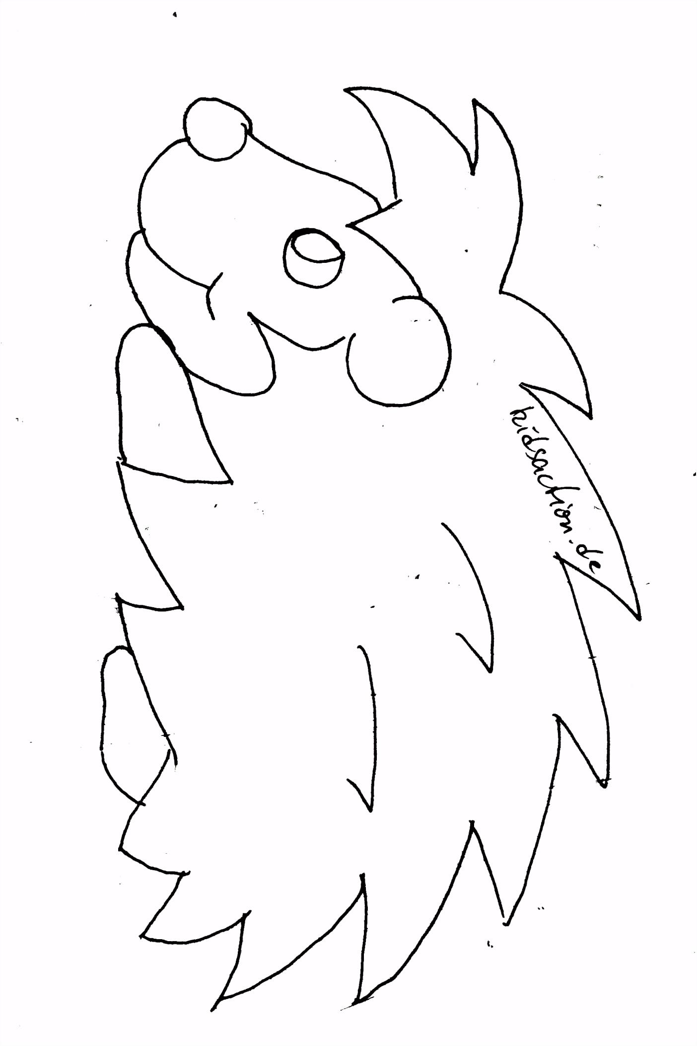 Zeichnen Vorlagen Einfach Malvorlagen Igel Elegant Igel