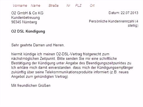 Kabel Deutschland Kndigen Vorlage Umzug Ausreise Info