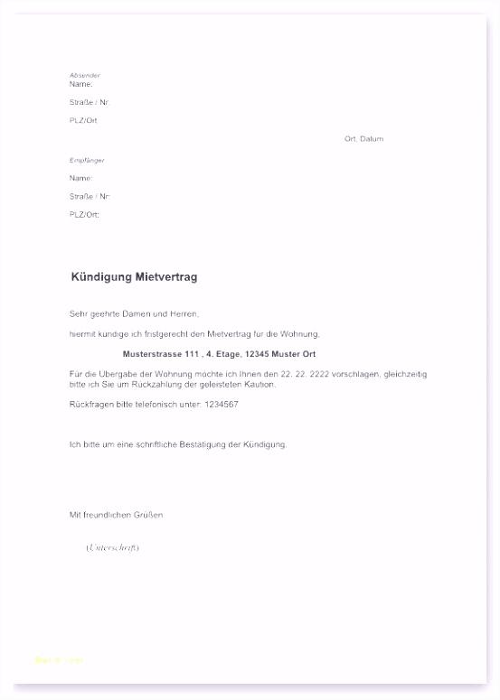 Wohnung Kündigen Vorlage Pdf Die Erstaunliche Vodafone Kündigung
