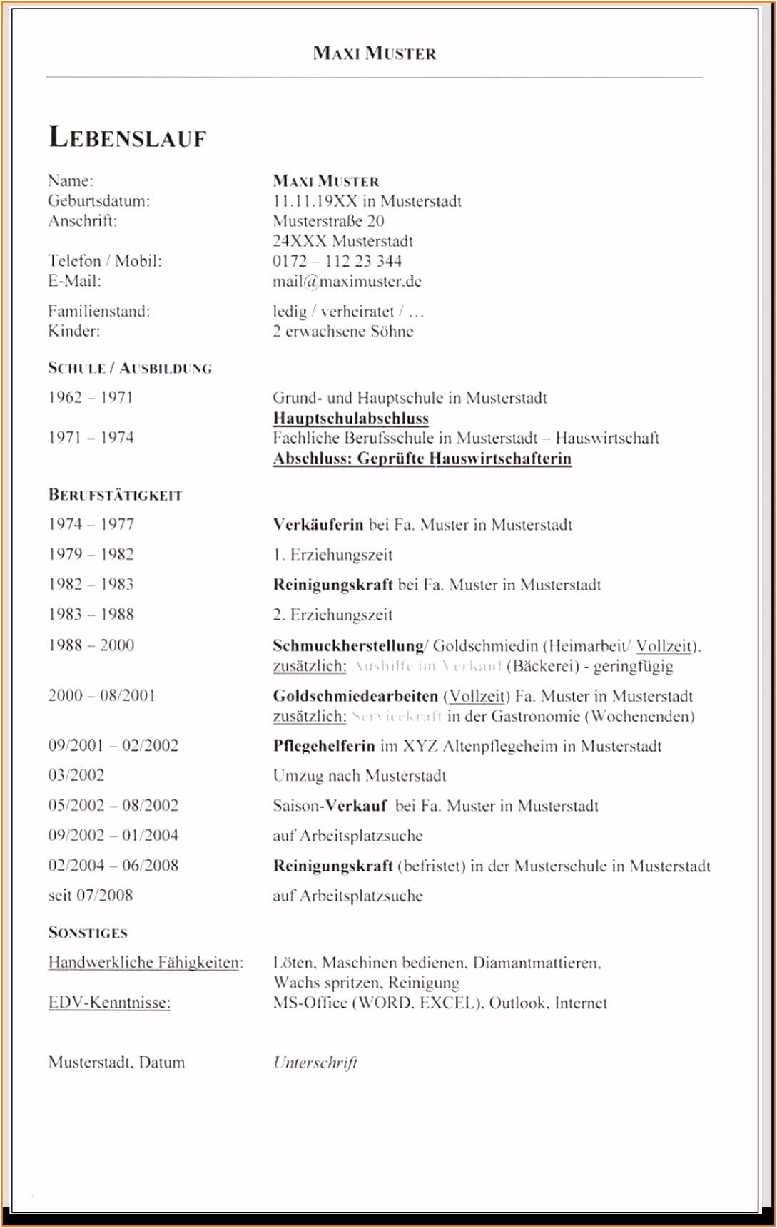 Arbeitszeugnis Hauswirtschafterin Vorlage 7 Lebenslauf Muster Gastronomie N0ai63hrr8 T2rwh2waa4