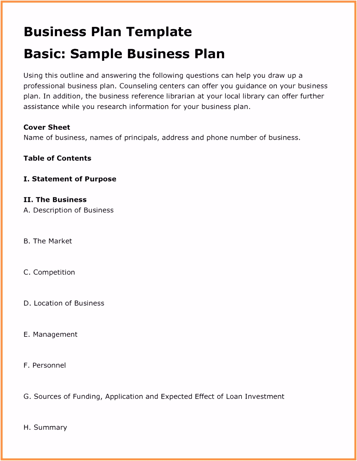 Frisches Businessplan Vorlage Pdf