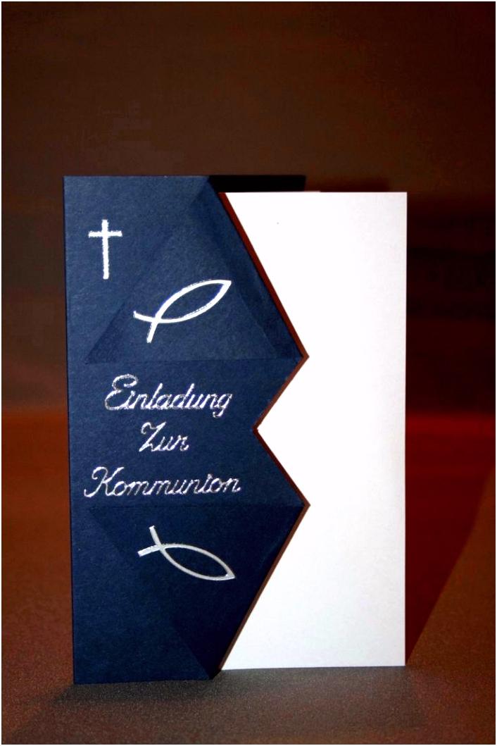 Einladungen Konfirmation Selbst Gemacht Einzigartig Einladungskarten