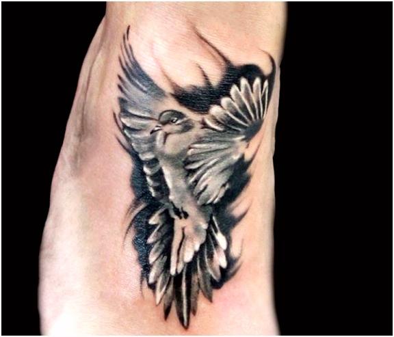 Weisse Taube Tattoo Bedeutung