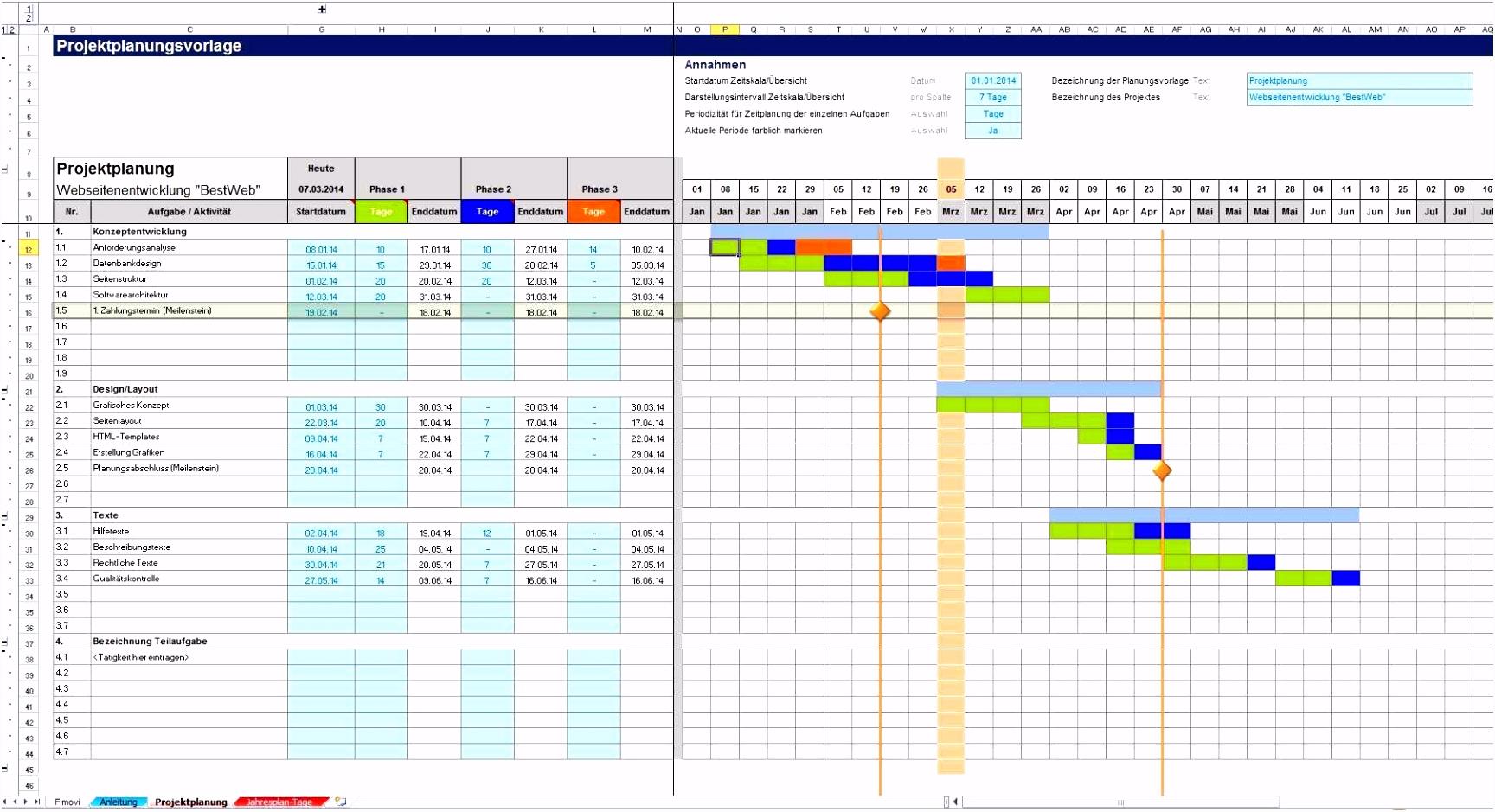 Gantt Diagramm Excel 2010 Oder Use This Free Gantt Chart Excel