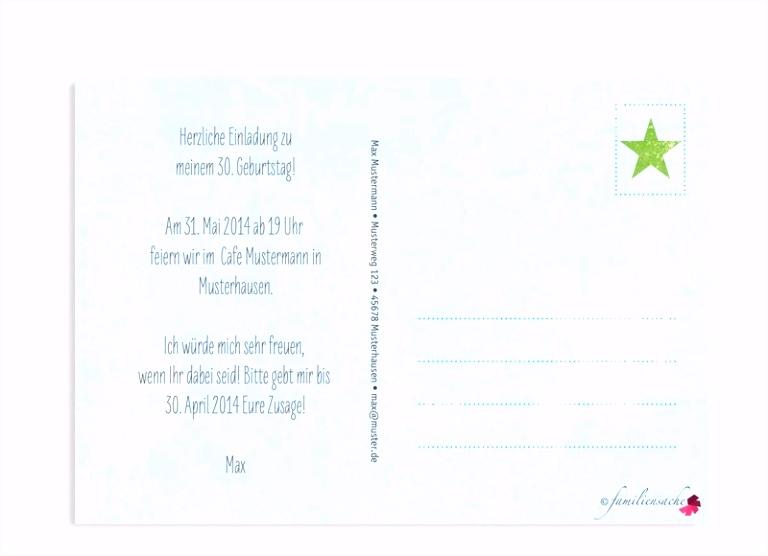 Einladungskarten Gestalten Geburtstag Elegant Erstaunlich Einladung