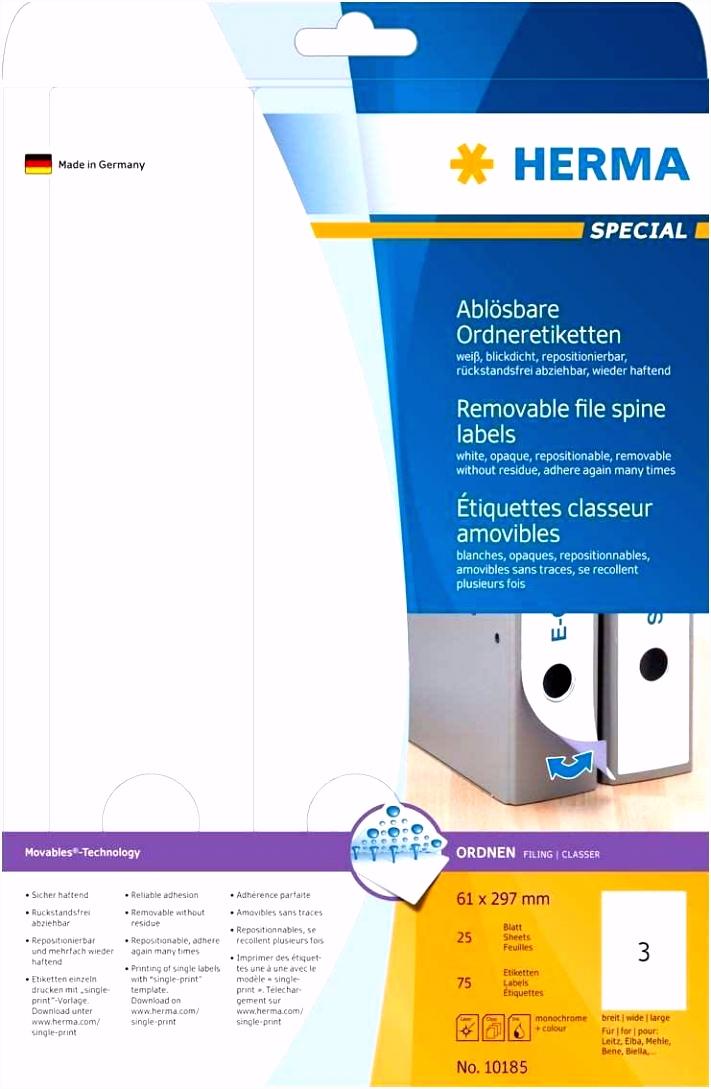 Modele Plus Plus A Imprimer Herma Ablösbare ordneretiketten Weiß