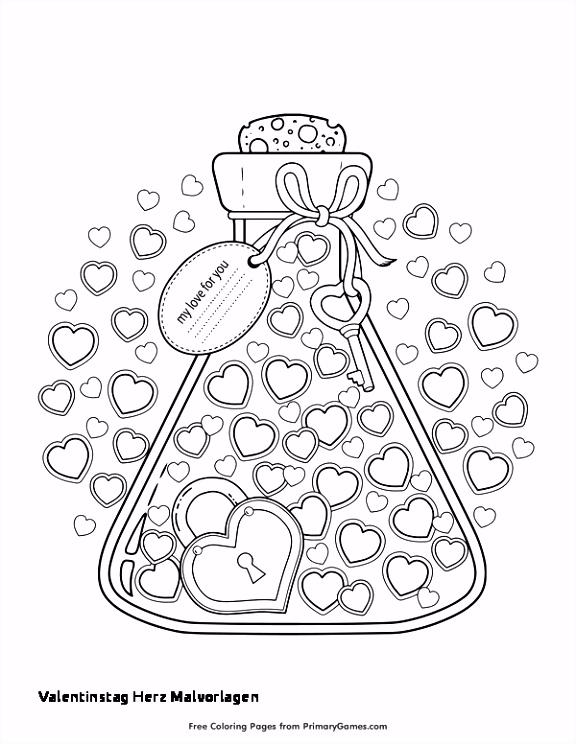 Herz Zum Ausdrucken 29 Valentinstag Herz Malvorlagen