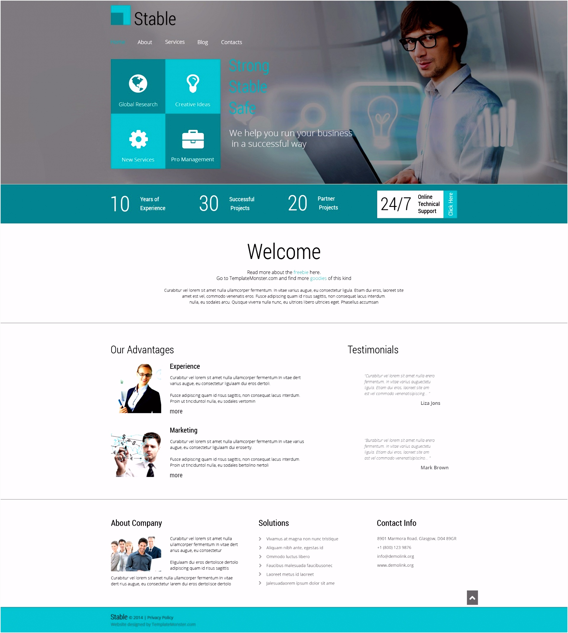Typo3 Html Newsletter Template Valid Free Html5 Theme For Consulting