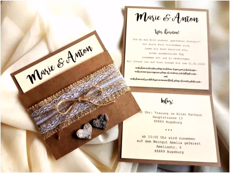 Einladungskarten Hochzeit Selber Machen Kostenlos Luxus Wunderbar