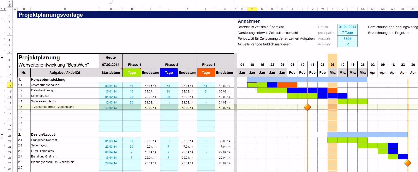9 Prozessanalyse Excel Vorlage