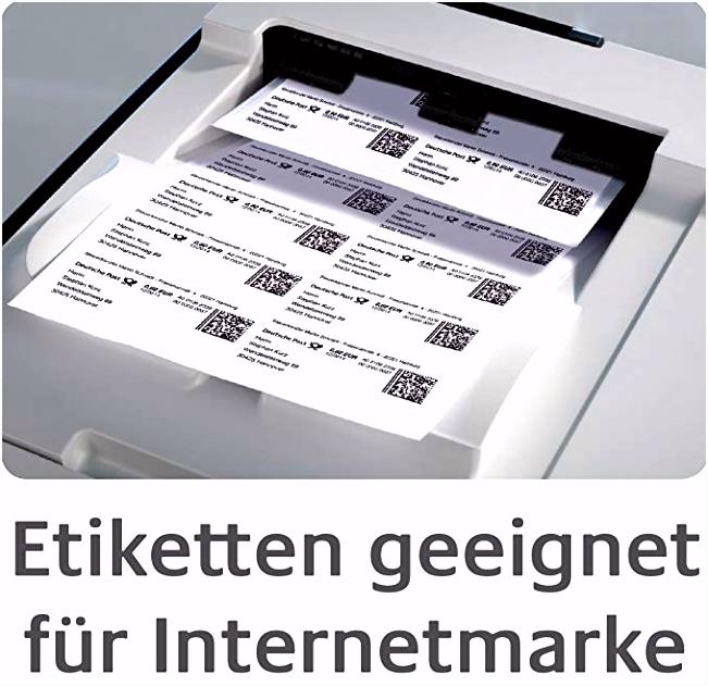 AVERY Zweckform J8169 25 Versand Etiketten A4 100 Stück 99 1 x