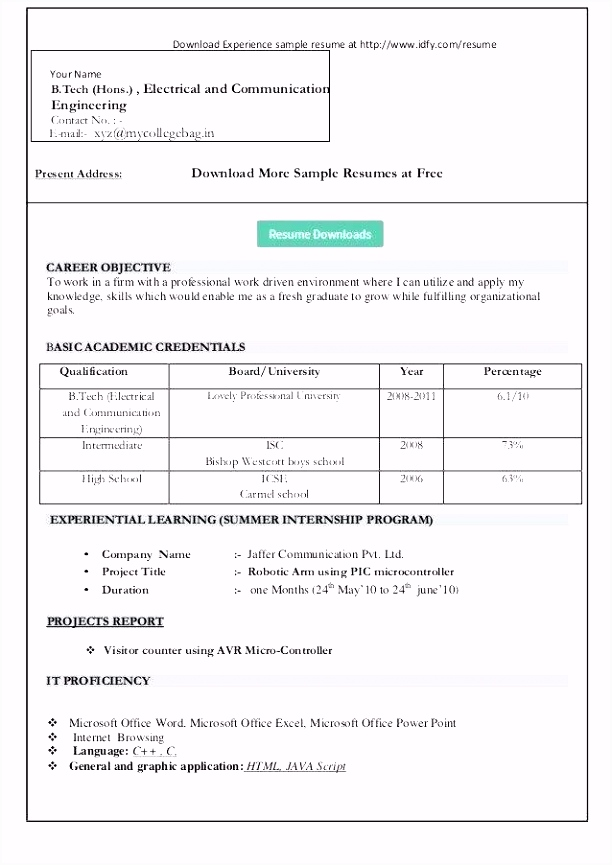 Resume Templates For Microsoft Word 2007 fice Button Resume