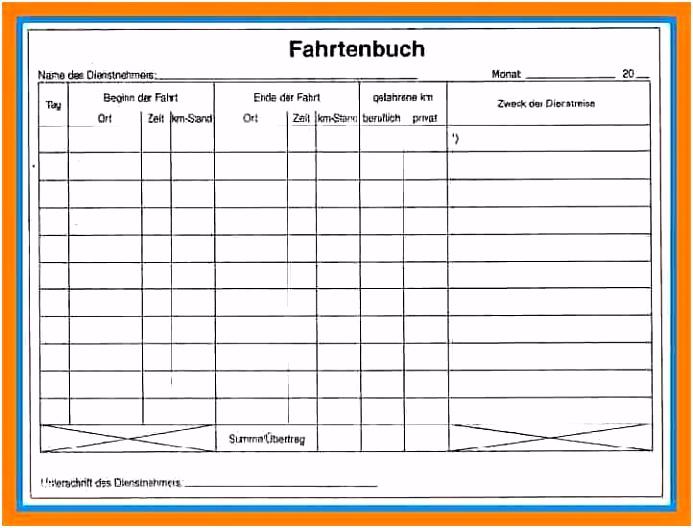 Excel Katalog Vorlage Schönste 6 Fahrtenbuch Vorlage Pdf Vorlage