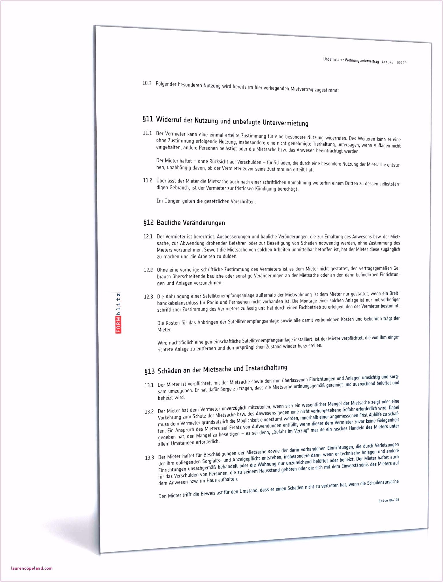 Kundigung Mietvertrag Wegen Eigenbedarf Vorlage Kostenlos Abc Der
