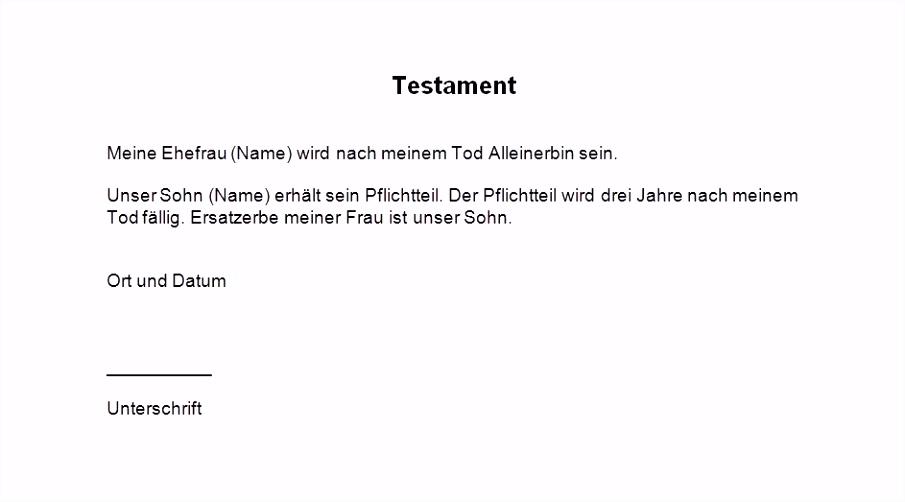 Vorlage Testament Alleinerbe Besten Der Testament Muster Alleinerbe J3oe24ekb7 V4eysmbms2