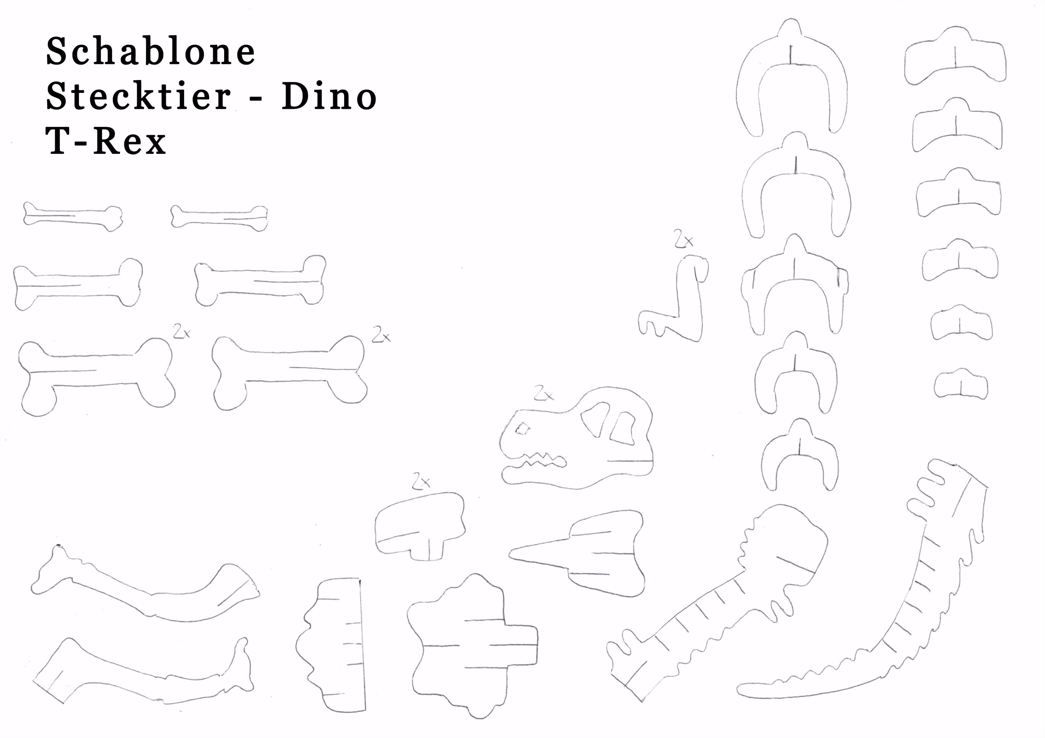 3d Stift Vorlagen Zum Ausdrucken Hübsch Dinosaurier Basteln T Rex