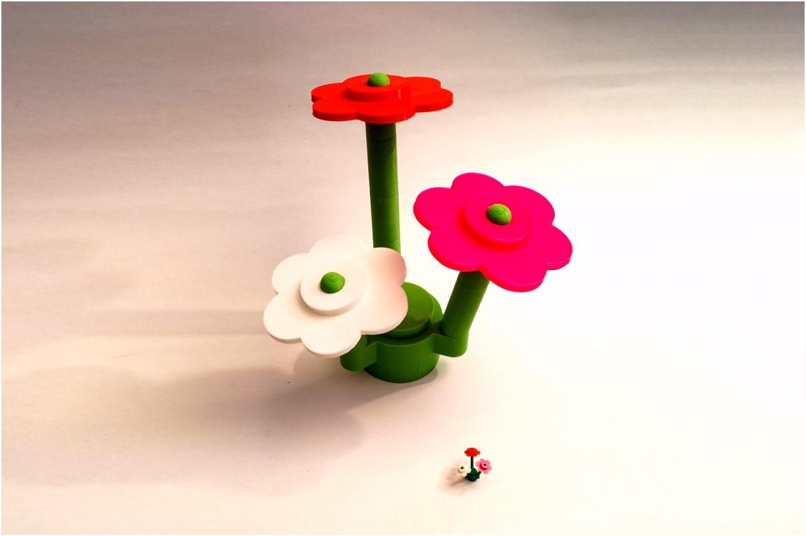 Lego Flower Power XXL aus dem 3D Drucker – Brickitdown