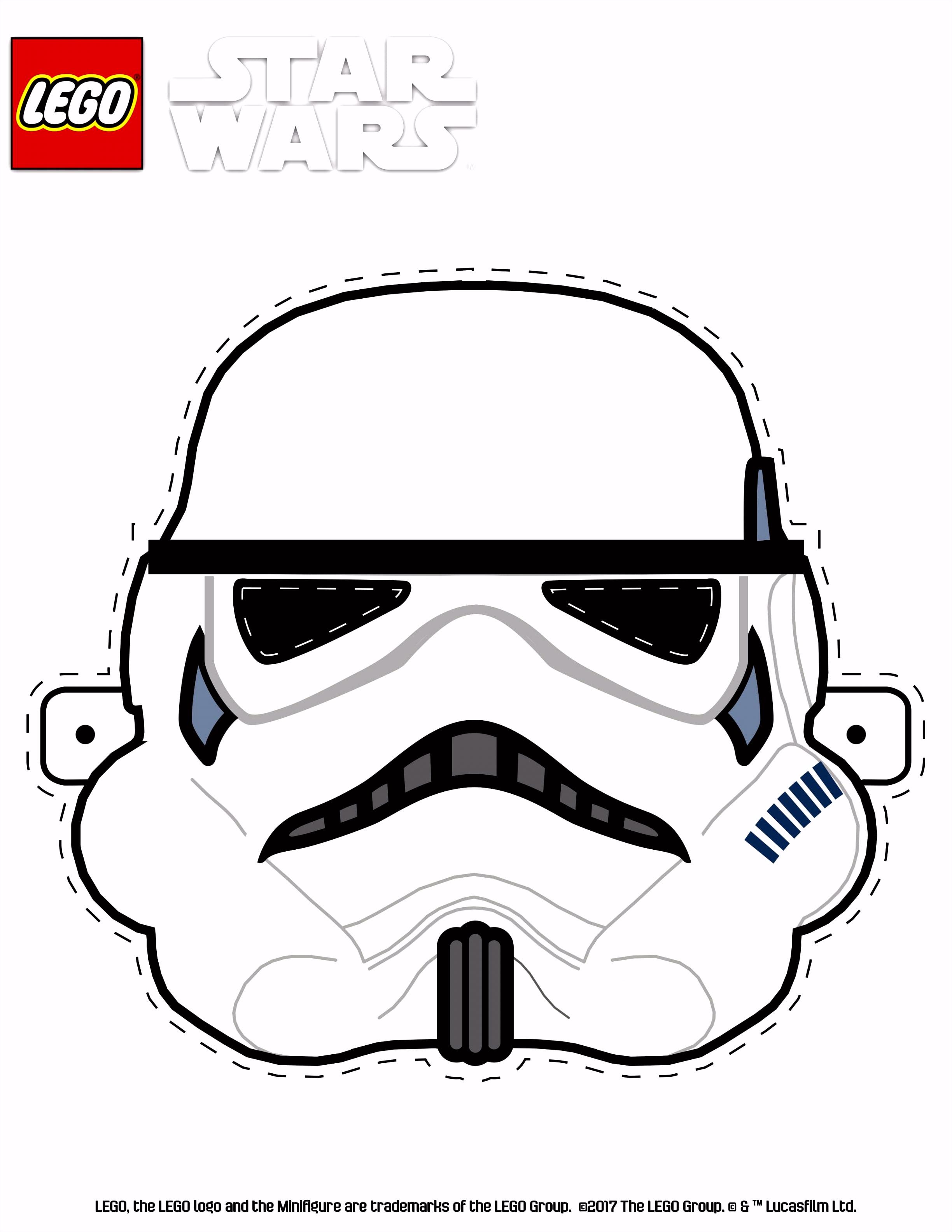 LEGO Star Wars Stormtrooper mask Games & Activities LEGO