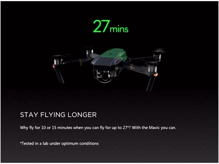 DJI Mavic Pro sklopivi dron quadcopter s 4K kamerom i gimbal