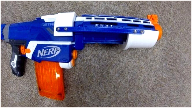 20 Best 3D Printed Nerf Gun Parts Mods & Attachments
