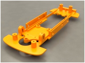 3D Druck Chassis Slotcar Factory