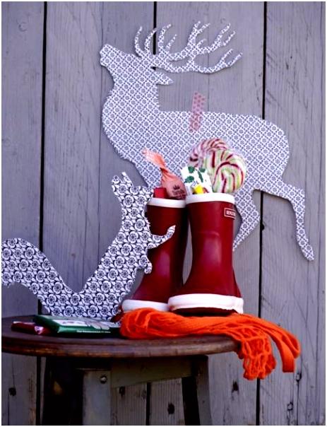 Anleitungen zu Weihnachten stolzer Hirsch Bild 23 [LIVING AT HOME]